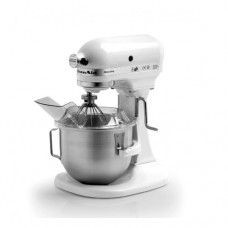 Planetaria Kitchenaid professionale, modello PK 5, Vasca da 5,5 litri, dotata di 3 accessori, frusta,uncino e spatola, dimensioni 360x280x420h mm