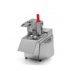 Tagliaverdure professionale in acciaio inox, completa di dischi 230-400 V trifase, dimensioni (LxPxH) 530x300x480 mm