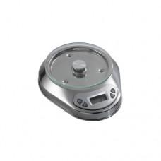 Bilancia di precisione, corpo in acciaio inox, digitale, max pesata 5 Kg, dimensioni 230x190x50h mm, modello 81MIN5-1LF