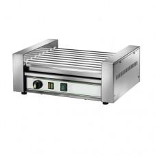 Hot Dog RW8, a norma CE, struttura in acciaio inox, numero max würstel 14, dimensioni 460x350x200h