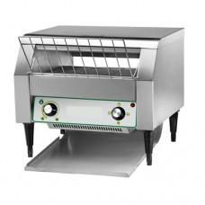 Tostapane EST A 3, ciclo continuo, tappeto cottura manuale dimensioni 350 mm, struttura acciaio inox, Produzione oraria 120÷350 (N°)
