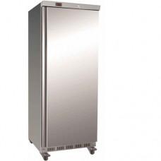Armadio refrigerato GN2/1 ventilato ECO, struttura acciaio inox modello EF700SS, dimensioni 777x730x1970 mm, capacità 641 lt, temperatura -18°C -22°C
