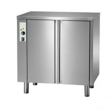 Armadio riscaldato per gastronomia SC-ACG10 da 10 teglie, capacità camera cottura 62mm, struttura in acciaio inox, Dimensioni 830x585x750h mm