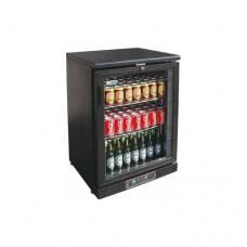 Bottle Cooler espositore refrigerato orizzontale per bibite, temperatura +2° +8° C, dimensioni 604x535x920h mm, modello BC1PB