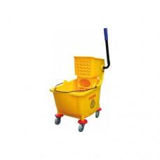 Carrello pulizia CA 1599E in plastica,dimensioni  60x40x92h cm