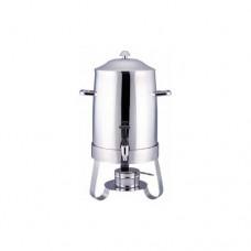 Distributore caffè DC 10502 in acciaio inox, dimensioni 33x24x54h cm