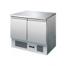 Saladette refrigerata statica, struttura in acciaio inox AISI 304, temperatura +2° +8° C dimensioni 900x700x870h mm modello S901