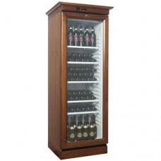 Cantinetta per vini refrigerata statica, mobile in legno, temperatura +2° +8° C dimensioni 700x660x1870h mm, modello KL2791