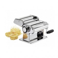 Macchina per pasta manuale per uso casalingo, ideale per lasagne, fettuccine, e tagliolini