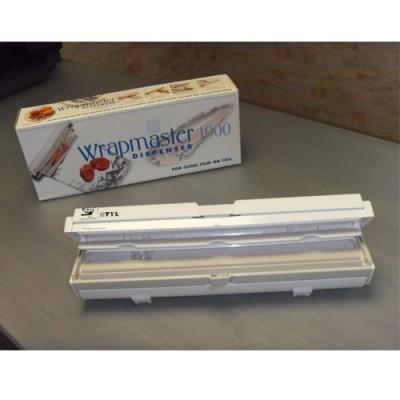 Dispenser per alluminio e pellicola trasparente adatti per la cucina, ideale per avvolgere e conservare il cibo. Prodotto Nuovissimo.