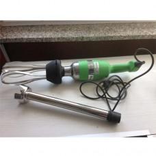Mixer professionale, completo di frusta e mescolatore da 400 mm,  con velocità variabile da 1 a 9,  230/50 Volt.