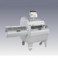 Cotolettatrice da pavimento in acciaio inox due velocità, dimensioni 1688x833x1440h mm, Tre cadenze di taglio: 97-195-390 colpi al minuto