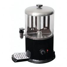 Cioccolatiera, erogatore cioccolata calda, capacità 6 litri, vasca in policarbonato, riscaldamento diretto con mescolamento continuo, dimensioni Ø 260xh470 mm