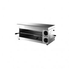 Griglia in acciaio inox, 3 livelli di cottura, dimensioni 620x3300x280 mm, piano cottura 450x250 mm