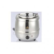 Zuppiera elettrica, strumento semplice e intuitivo, contenitore removibile in acciaio inox, temperatura +45° C +95° C, dimensioni Ø 335x365h mm