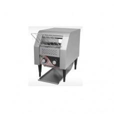 Tostapane professionale, telaio in acciaio inox, velocità regolabile, produzione oraria fette 150-180, dimensioni 290x430x430 mm