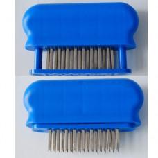 Taglianervi in materiale plastico, con lame in acciaio inox