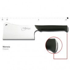 Mannaia professionale euronorm con lama da 20 cm, peso 1,270 Kg, realizzata in acciaio di alta qualità con trattamento lucido