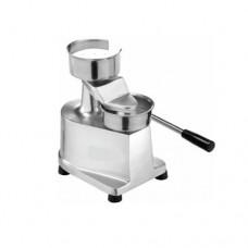 Pressa hamburger manuale HF-100, dimensioni disco hamburger 100 mm, dimensioni pressa 320x250x300h mm