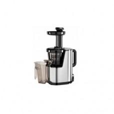 Estrattore succhi, struttura in acciaio inox e plastica idonea agli alimenti, velocità 600 rpm, dimensioni 240x170x445h mm