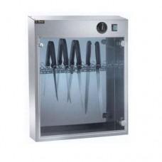 Sterilizzatore per coltelli a raggi UV in acciaio inox, capacità 14 coltelli