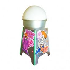 Banchetto in acciaio nox, ideale per poggiare la vostra macchina per zucchero filato nelle feste, dimensioni aperto 70x70x90 cm