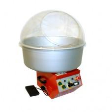Macchina per zucchero filato, modello smarty, a norma CE, cupola in plexiglass, dimensioni 35x42x42 cm