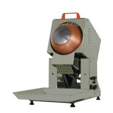 Pralinatrice da banco a gas, scocca in acciaio inox, capacità 2 kg, monofase a norme CE, dimensioni 45x75x70 cm