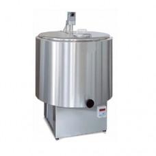 Refrigeratore per latte in acciaio inox, capacità da 100 a 300 litri