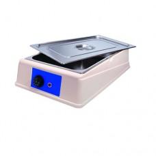 Sciogli cioccolato analogico, capacità 13,7 lt, temperatura regolabile fino a 50° C, contenitore e coperchio in acciaio inox