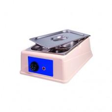 Sciogli cioccolato analogico, capacità 6 lt, temperatura regolabile fino a 50° C, contenitore e coperchio in acciaio inox
