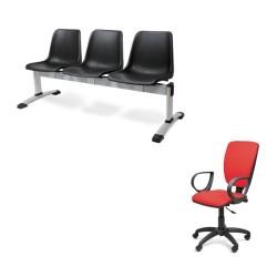 Sedie ufficio / panche d'attesa