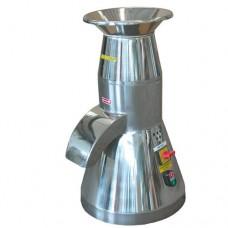 Macinapane piccolo, macchina costruita interamente in acciaio inox AISI 304, filtro di scarico pane grattugiato in acciaio inox AISI 304, capacità 200 Kg/ora