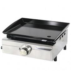 Piastra a gas facile da usare e ancor più semplice da pulire, la Plancha è il piano di cottura indispensabile per la tua cucina, dimensioni piastra di cottura 420 x 340 mm
