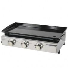 Piastra a gas facile da usare e ancor più semplice da pulire, la Plancha è il piano di cottura indispensabile per la tua cucina, dimensioni piastra di cottura 670 x 340 mm