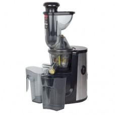 Estrattore di succo a freddo, diametro del condotto di alimentazione 75 mm, capacità contenitore succo 1 litro, dimensioni 235x168x543h mm