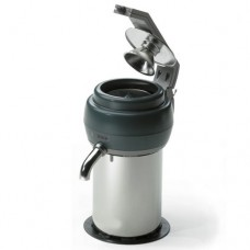 Spremiagrumi per arancie, pressione a leva, corpo in acciaio inox, facile da pulire, produzione Arance/ora: 200, dimensioni 200x300x370h mm