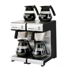 Macchina da caffè a filtro, produzione a brocca, 28 litri/ora, la macchina carica automaticamente l'acqua, boiler e porta filtro in acciaio inox, dimensioni 404x406x446h mm