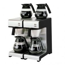 Macchina da caffè a filtro, produzione a brocca 28 litri/ora, senza collegamento all'acqua, dimensioni 404x406x446h mm