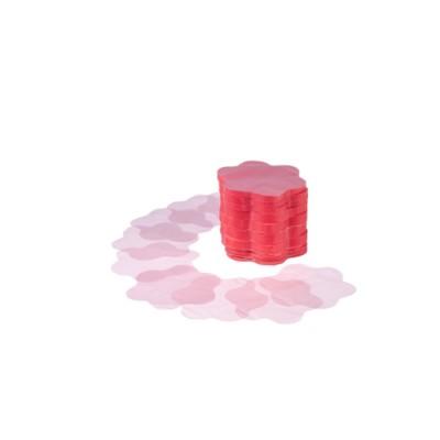 Dischi perlafol colore rosa, forma a fiore