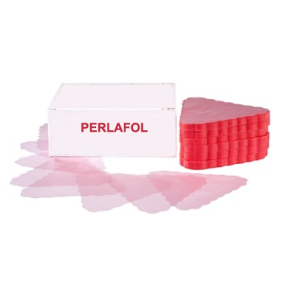 Dischi perlafol colore rosa, forma a triangolo