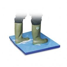 Tappeto igienizzante in materiale tecnoplastico, per la disinfezione del bestiame o delle ruote dei muletti e macchine di movimentazione, dimensioni 1800x900 mm