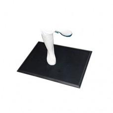 Tappeto igienizzante, questo tappeto pulisce e disinfetta le calzature. È consigliato agli ingressi in tutte le aree di processo alimentare, dimensioni 610x810 mm