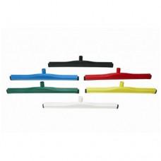 Tiracqua/Spingiacqua professionale lunghezza 600 mm  con lama in spugna di gomma ideale per rimuovere acqua e residui alimentari, disponibile in vari colori