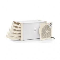 Essiccatore in ABS con 5 cassetti per l'essiccamento, ideale per essiccare frutta e prodotti alimentari, dimensioni 27x27x46 cm, modello SC-73500