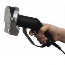 Coltello elettrico per gyros, acciaio inox leggero e pratico da usare, Lama Ø 80 mm regolabile per lo spessore, dimensioni coltello 115x110x240 mm